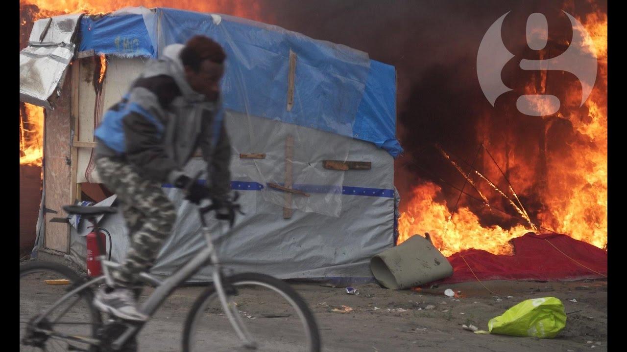 Where next? The last days of the Calais refugee camp