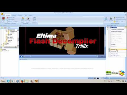 Sothink Swf Decomplier Tutorial exporting swf into flash from YouTube · Duration:  3 minutes 29 seconds