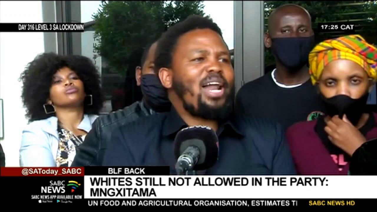 Download BLF Back | Whites still not allowed in the party: Mngxitama