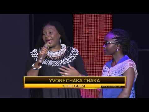 Kansiime Anne and Yvonne ChakaChaka on #iamkansiime stage. Kansiime Anne. African comedy