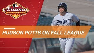 Hudson Potts discusses his Arizona Fall League experience