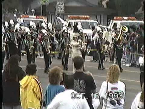 Giano Intermediate School Gladiator Marching Band @ the 1993 Buckboard Parade