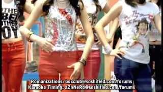Gee - Snsd Karaoke Full (back vocal)