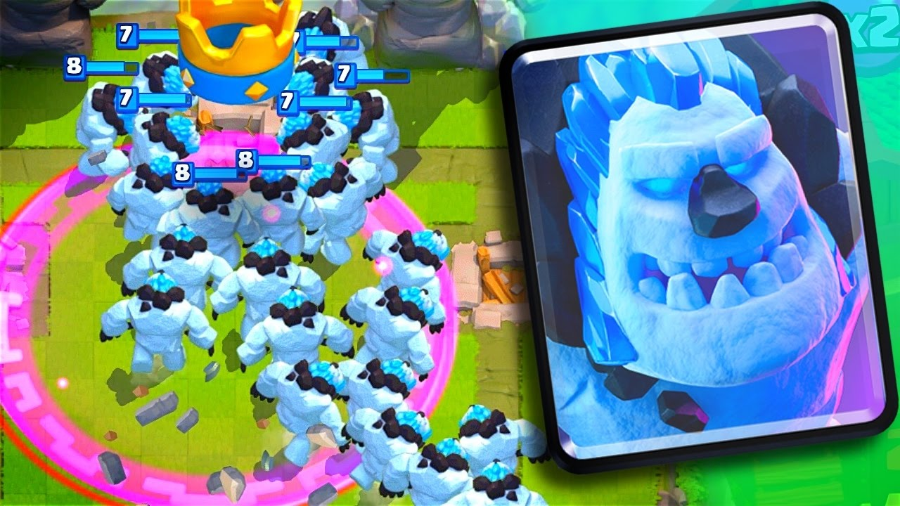 ice golems update gameplay