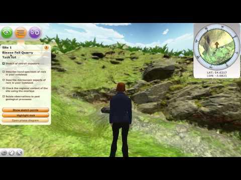 3D Virtual Geology Field Trip (VWBPE2014)