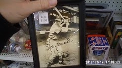 BASEBALL CARD HUNTING AT ANTIQUE MALLS WITH MY FAMILY