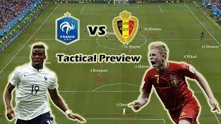 France vs Belgium | Tactical Preview | World Cup Semi Final