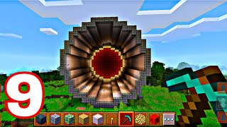 Making Round tunnel in Block pro Earth 2021 Android gameplay  Craft Games like Minecraft,craft world screenshot 5