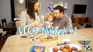 VlogNukkah Day #2 - MORE PRESENTS, LATKAHS & CELEBRATING HANUKKAH Daily Hanukkah Vlogs
