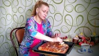видео Пирог с рыбой дрожжевой