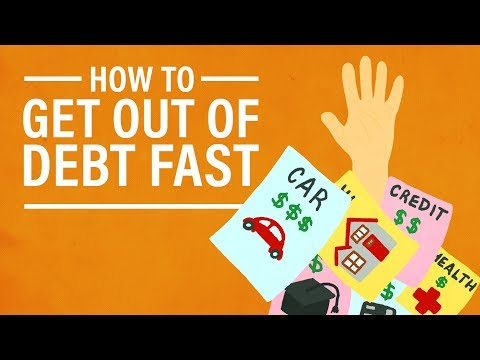 How to Get Out of Debt as Fast as Possible