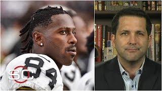 NFL unaware of Antonio Brown sexual assault accusation until Tuesday - Adam Schefter | SportsCenter