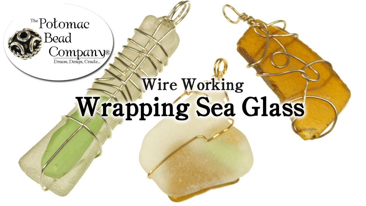 Wrapping Sea Glass - YouTube