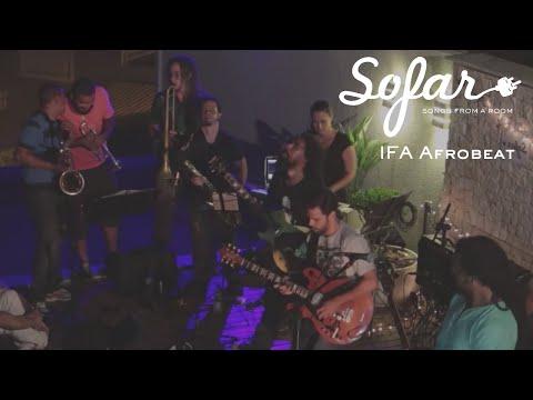 IFÁ Afrobeat - AfroFunk Revolution / Suffer | Sofar Salvador