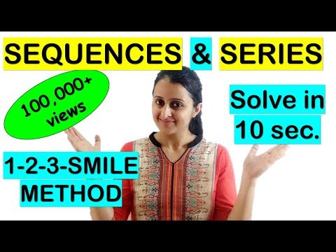 SEQUENCES AND SERIES SHORTCUT//TRICK FOR NDA/JEE/EAMCET/KCET/COMEDK thumbnail