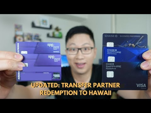 """How to Use Transfer Partners for """"Free"""" Hawaii Trip"""