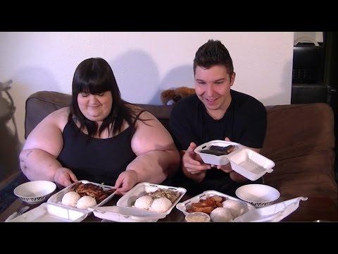 L & L Hawaiian BBQ Collaboration with Nikocado Avocado | Mukbang (Eat with us)