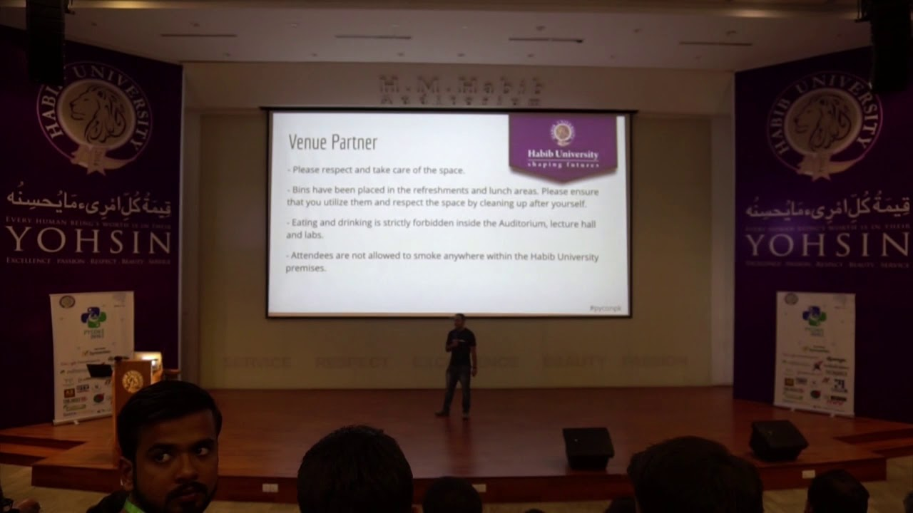 Image from Introduction to Pycon Pakistan 2019
