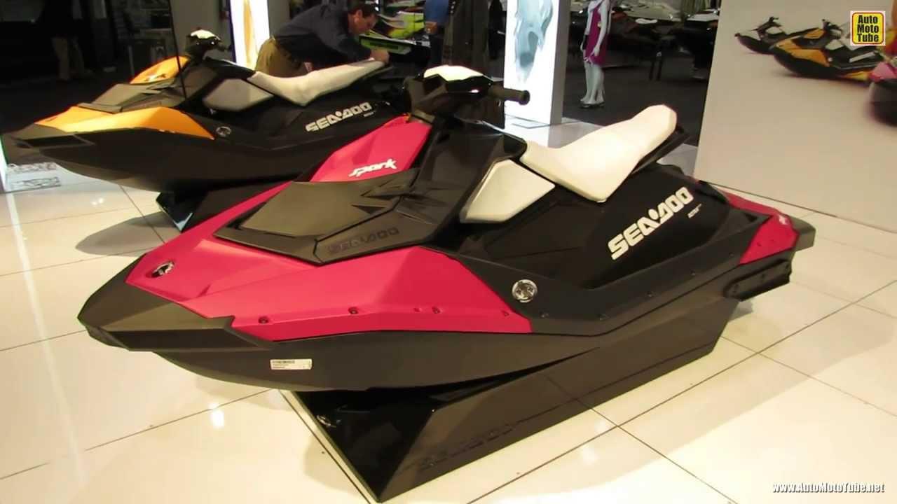 Watch For Motorcycles >> 2014 Sea Doo Spark Jet Ski - Walkaround - 2014 Toronto