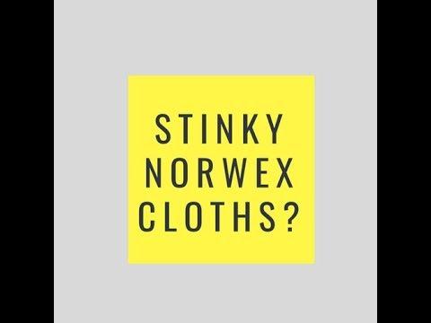 Stinky Norwex Cloths?