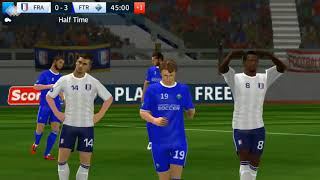 Football Footer   Dream League Soccer Game Play   Int'l Cup Finals.