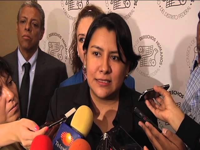 Entrevista a la Dra Perla Gómez al término de la Presentación de las Acciones de Supervisión