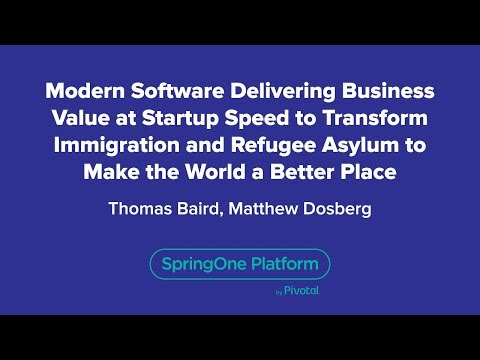 Modern Software Delivering Business Value at Startup Speed