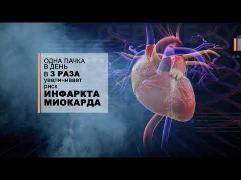 Так выглядит сердце курильщика!