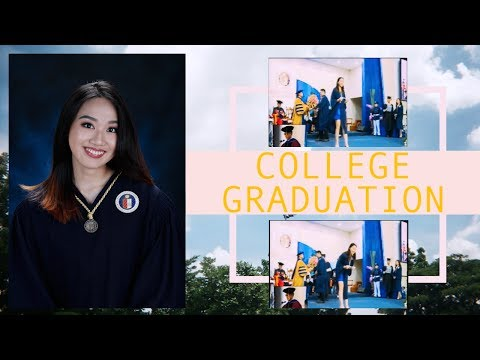 Graduating from Ateneo de Manila University 2017 | Nadine Felice