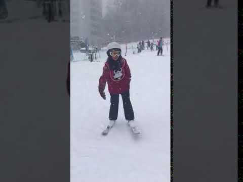 Jinnie Sineecha my 1st Time for ski 🎿 2018 Hokkaido