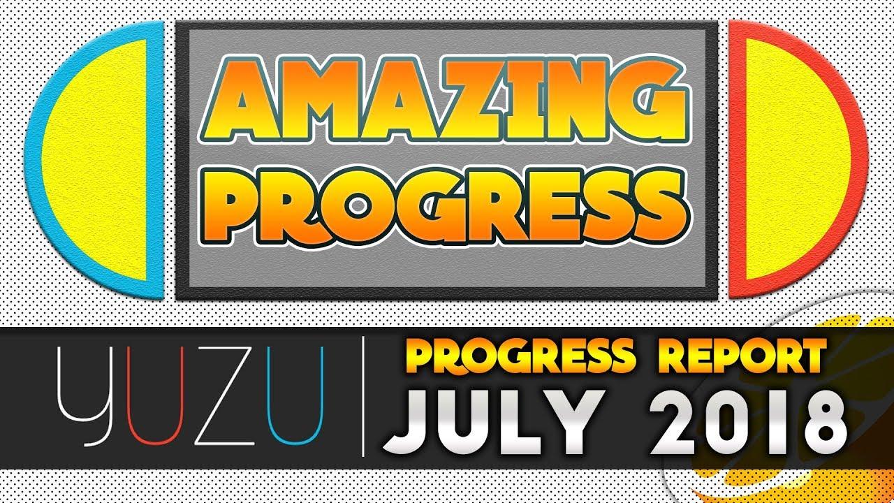 Yuzu | July Progress Report | Octopath, 3D, XCI/NCA, Audio & More