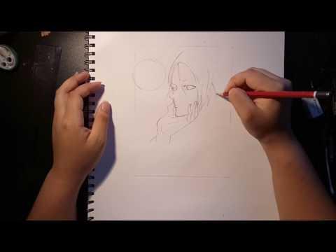 Speed drawing Old Xian (19 Days) Zhengxi Zhan & Jian Yi