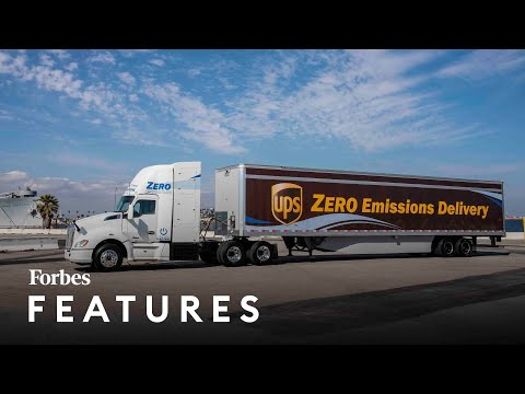 How Hydrogen Trucks Are Shaping The Future Of The Port Of Los Angeles | Forbes