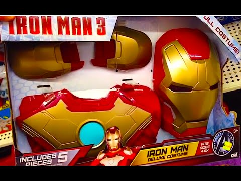 IRON MAN 3 Iron Man Deluxe Costume [Full Iron Man Costume] REVIEW