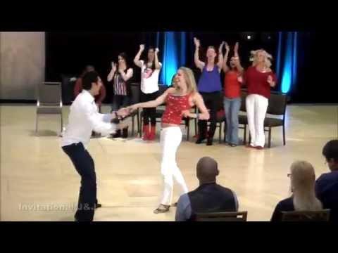 Michael Kielbasa & Kristen Humphrey - Wild Wild Westie Invitational Jack & Jill 1st Place