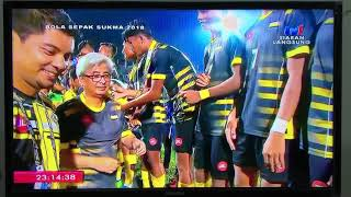 Sukma 2018 Victory Ceremony Football - Gold Medal