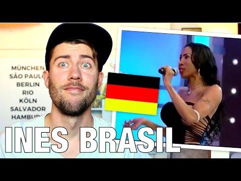 INÊS BRASIL fala bem ALEMÃO ? ( Análise Gringa ) | O Alemão