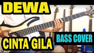 Download Video ( Bass cover ) Dewa - Cinta gila MP3 3GP MP4