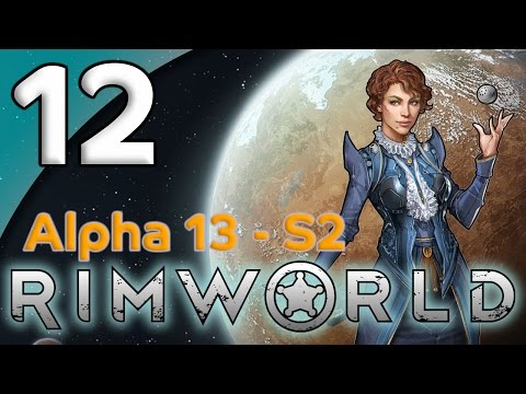 Rimworld Alpha 13 - 12. Bunker Building - Let's Play Rimworld Gameplay