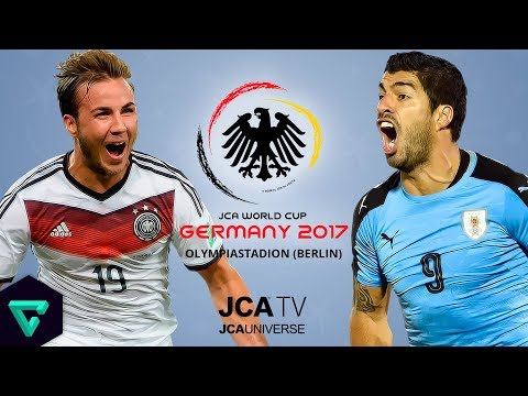 Germany vs. Uruguay | Group A | 2017 JCA World Cup Germany | PES 2017