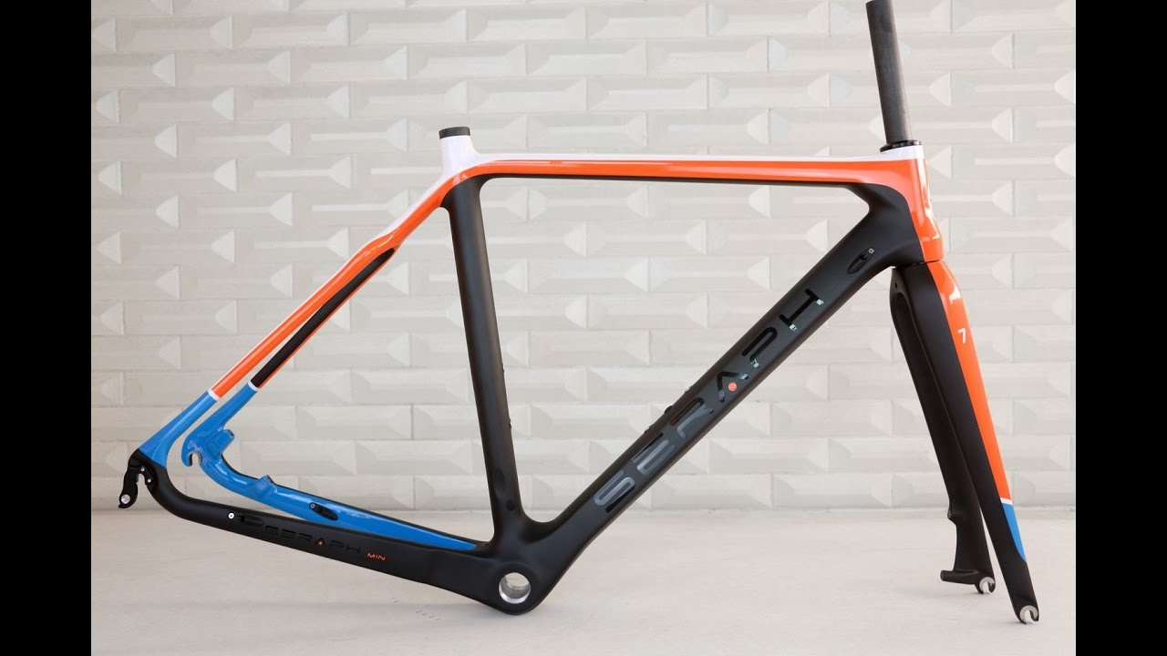 SERAPH brand carbon cyclocross frame, chinese custom painting ...