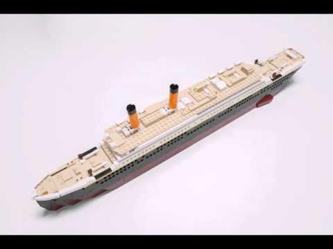 Smyths Toys - Oxford Deluxe Titanic Construction Set
