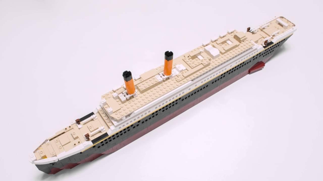 Toys R Us Titanic Model : Smyths toys oxford deluxe titanic construction set youtube