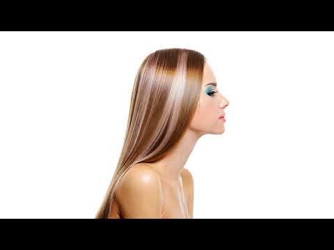 Как уменьшить объем волос
