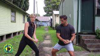 Womens Self Defence Tip- Two Handed Grab