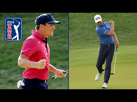 Every shot from epic 8-hole playoff: English vs. Hickok at Travelers