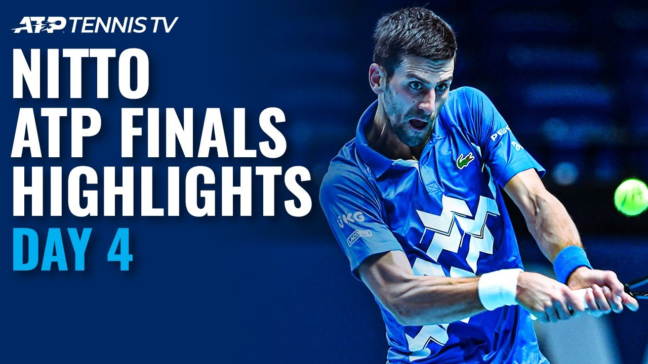Djokovic vs Medvedev; Zverev vs Schwartzman | Nitto ATP Finals 2020 Highlights Day 4