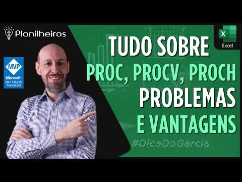 EXCEL 2016 - PROCV x PROCH x PROC (Vantagens e Problemas ao utilizar)