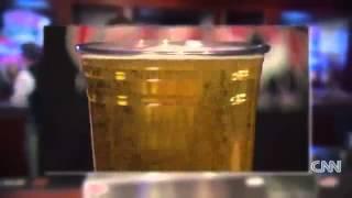 Bottoms Up Draft Beer Dispensing System on CNN.