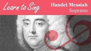 Soprano Part for Handel Messiah